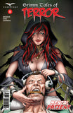 Grimm Tales of Terror: Vol. 3 #9 Keres Helping Patient Earmuff Creepy Scary Comic Book Cover Art