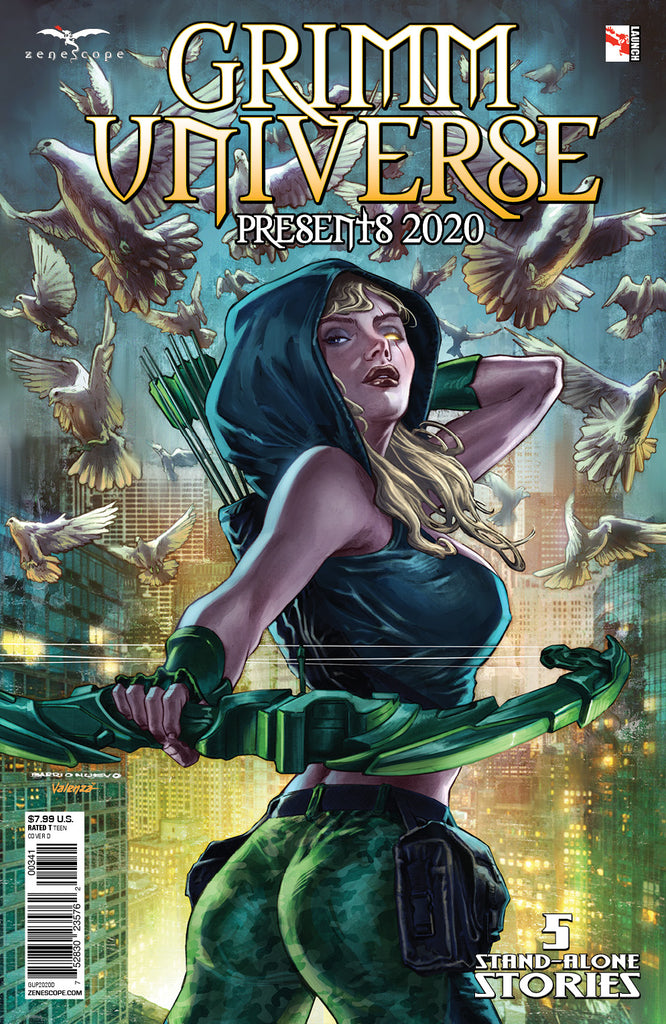 Grimm Universe Presents 2020 One shot Zenoscope Variant Cover 1F