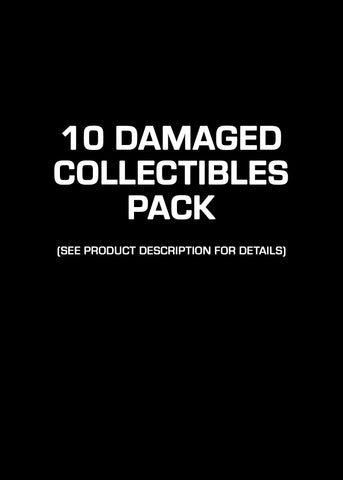 10 Damaged Collectibles Pack