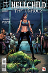 Hellchild: The Unholy #1 Angelica Blackstone Fight Club Monsters Beat Up Comic Cover