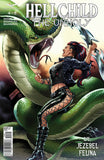 Hellchild: The Unholy #4 Angelica Blackstone Fighting Dragon Serpent
