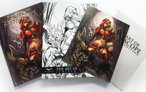 The Art of Zenescope Vol. 2 Limited Edition Art Book Set