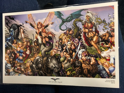 Grimm Fairy Tales #50 Mini Art Print