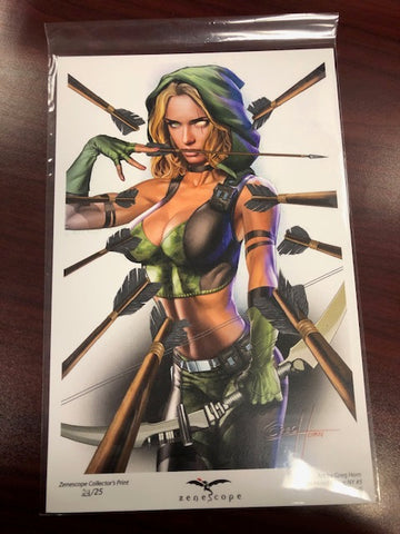 Robyn Hood: I Love NY #5 - Cover G Mini Art Print