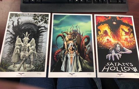 Satan's Hollow Mini Print Set