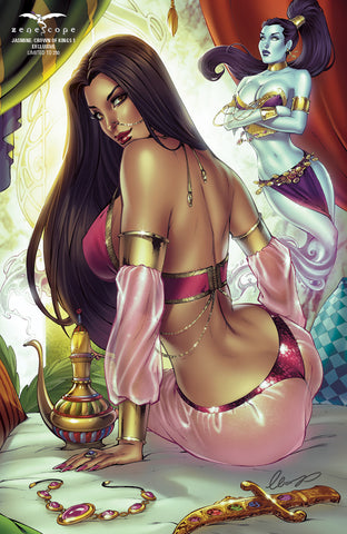 Jasmine: Crown of Kings #1 - Cover G - LE 250
