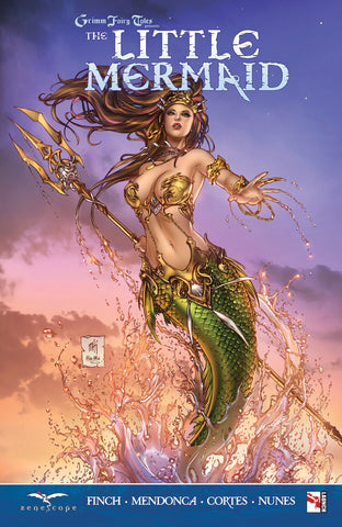 Grimm Fairy Tales: The Little Mermaid Graphic Novel