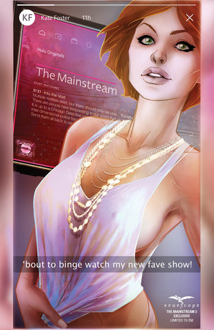 The Mainstream #3 - Cover B - LE 250