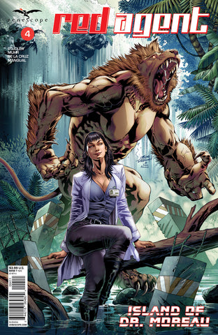 Red Agent: Island of Dr. Moreau #4