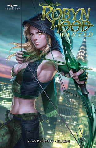 Robyn Hood: Wanted Graphic Novel