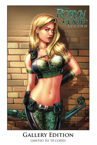 Robyn Hood: Legend #1 - Gallery Edition Exclusive - LE 10