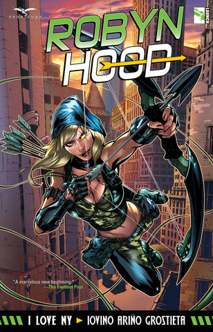 Robyn Hood: I Love NY Graphic Novel
