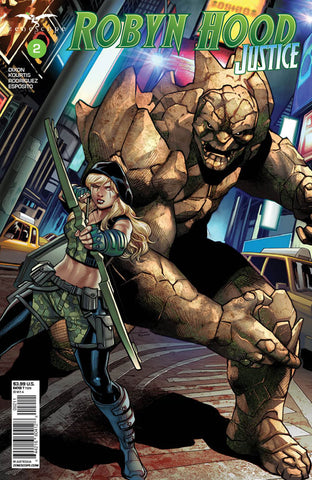 Robyn Hood: Justice #2. Cover A. Martin Coccolo. Ivan Nunes. Zenescope. August 2020.