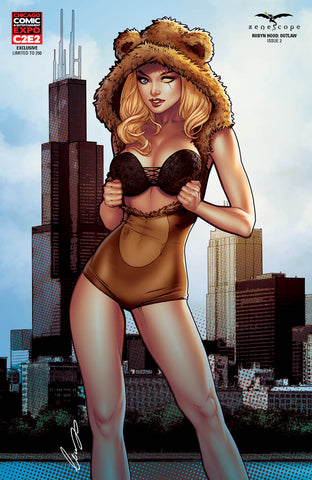 Robyn Hood: Outlaw #2 - Cover F - LE 250