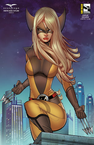Robyn Hood: Outlaw #4 - Cover H - LE 350