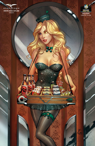 Robyn Hood: Outlaw #5 - Cover F (9.8 Grade)