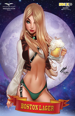 Robyn Hood: Outlaw #6 - Cover E - LE 350