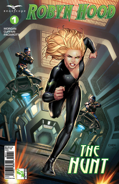 Robyn Hood: The Hunt #1 A Robyn Hood Running Under Fire Guard Prison Escape