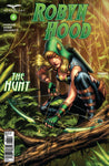 Robyn Hood: The Hunt #4 Jungle Bow and Arrow Tree Branches Comic Book Cover Art