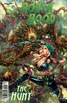 Robyn Hood: The Hunt #4 Robyn Hood Under Attack Monster Tree Demon Comic Book Cover Art