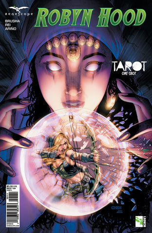 Robyn Hood: Tarot One-Shot A Sean Chen Crystal Ball Magician Girl Robyn Hood Prediction