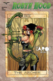 Robyn Hood: Tarot One-Shot C Richard Ortiz Tarot Card Robyn Hood Firing Bow