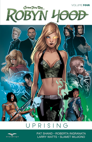 Robyn Hood Ongoing Volume 4: Uprising Graphic Novel