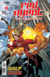 Red Agent: The Human Order #2 Building Explosion Falling Red Riding Hood Exciting Thrilling