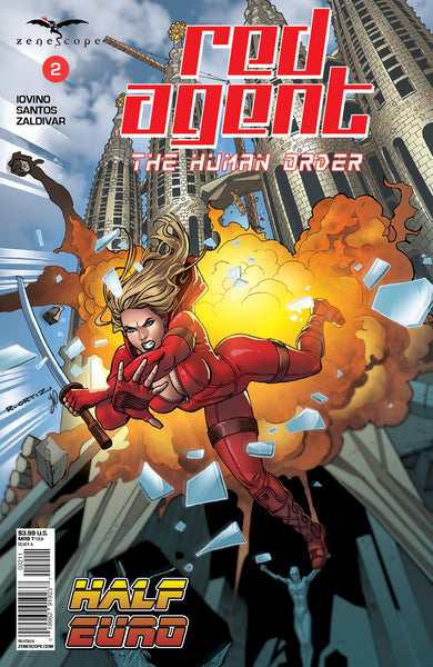 Red Agent: The Human Order #2