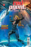 Red Agent: The Human Order #2 Secret Agent Force Field Building Fire Protection Thrill Cover Comic