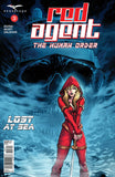 Red Agent: The Human Order #3 Ghost Ship Skull Fog Red Riding Hood Cover Art Comic