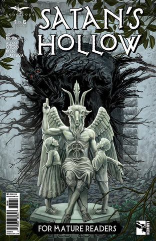 Satan's Hollow #1 Statue Sanctuary Mausoleum Evil Tree Roots Corruption