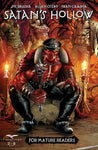 Satan's Hollow #3 Evil Demon Muscle Throne Hell Fire Impaled People Terror Scary Cover Art Comic
