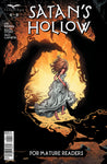 Satan's Hollow #4 Girl White Dress Running Terror Evil Black Demon Comic Art