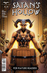 Satan's Hollow #4 Torture Chair Demon Human Skulls Chains Scary Evil Comic Cover