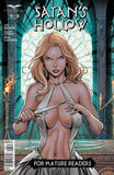Satan's Hollow #5 Ritual Sacrifice Girl Anger Knife Comic Book Cover Art