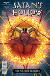 Satan's Hollow #5 Flame Pentagram Satan Evil Demon Rising Comic Book Art Cover