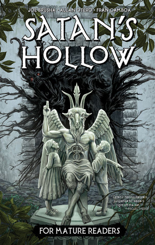 Satan's Hollow Graphic Novel Hardcover