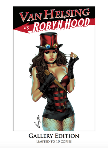 Van Helsing vs. Robyn Hood #1 - Gallery Edition Exclusive - LE 10