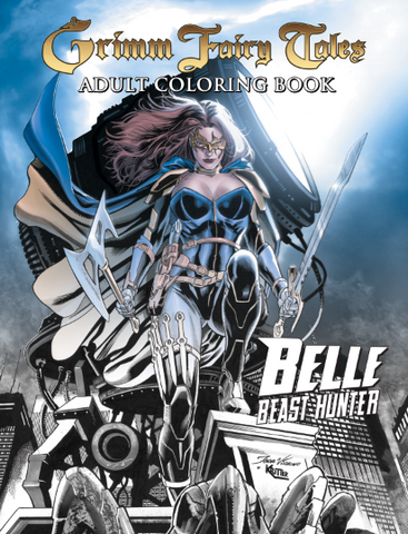 Belle: Beast Hunter Adult Coloring Book