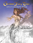 Little Mermaid Adult Coloring Book
