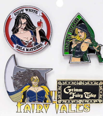 Heroes Collectible Pin Pack