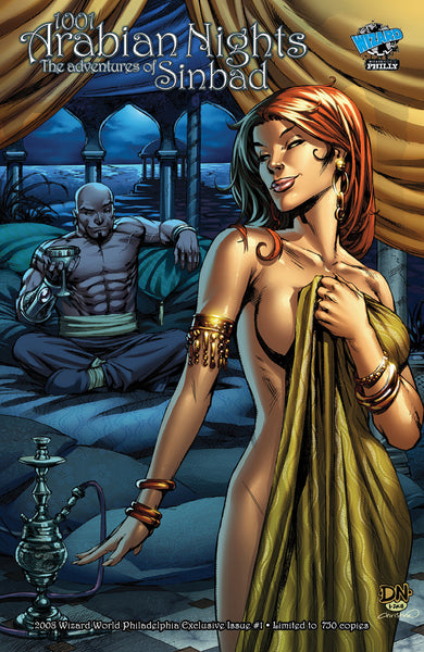 1001 Arabian Nights: Sinbad #1 - Cover C