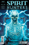 Spirit Hunters #4 Electric Chair Ghost Scary Horror Terror Comic Cover Book Art