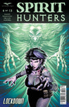 Spirit Hunters #4 Ghost Attacking Girl Running Comic Book Cover Art