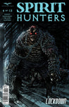 Spirit Hunters #4 Chained Up Demon Ghost Darkness Shadows Comic Cover Book