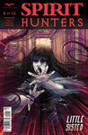 Spirit Hunters #5 Girl Under Attack Demon Tendrils Comic Book Cover Art