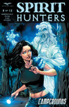 Spirit Hunters #8 A Anthony Spay Girl with Flashlight Attacked by Ghost