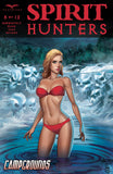 Spirit Hunters #8 C Alfredo Reyes Swimsuit Girl In Lake Attack by Ghosts