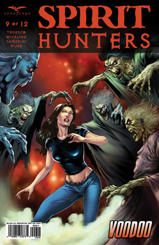 Spirit Hunters #9 Ellen Under Attack Monsters Ghosts Angry Spirits Fear Action